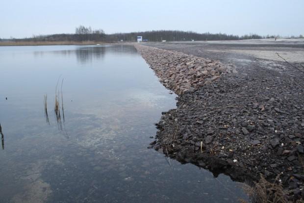 Das gesicherte Südufer des Cospudener Sees. Foto: Ralf Julke