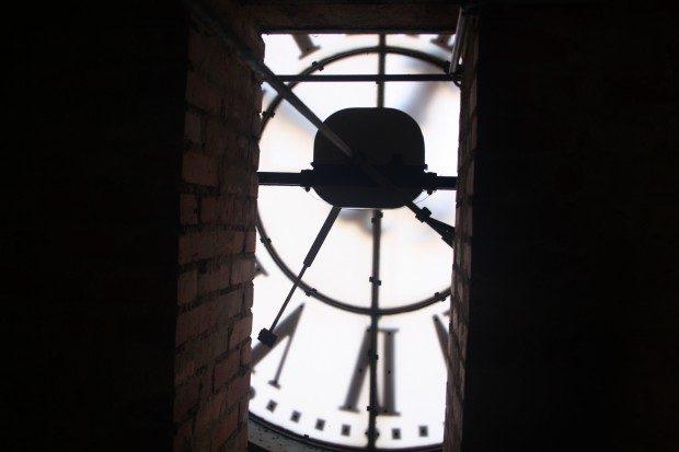 Mal wieder am Rad, äh Uhr, gedreht. Foto: L-IZ.de