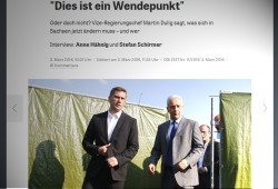Das Dulig-Interview auf zeit.de. Screenshot: L-IZ