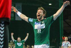 Unglaublich: Die DHfK-Handballer besiegen den amtierenden Vereinsweltmeister aus Berlin. Foto: Jan Kaefer