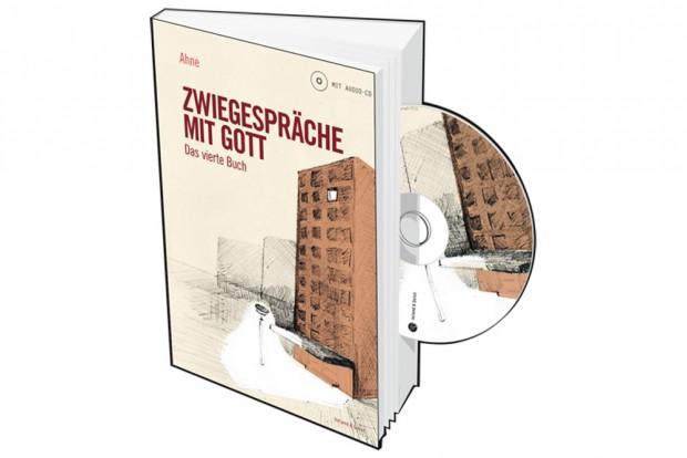 Ahne: Zwiegespräche mit Gott. Das vierte Buch. Cover: Voland & Quist