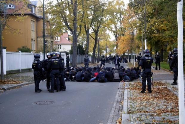 Blockaden beobachten und rechtlich sauber einordnen. Foto: L-IZ.de