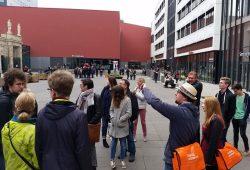 Die Campusführungen waren zum Studieninformationstag sehr begehrt. Foto: Nina Mewes/Universität Leipzig