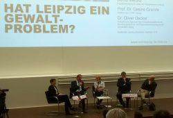 Hat Leipzig ein Gewaltproblem? Foto: Jens-Uwe Jopp