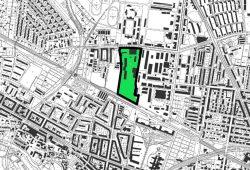 Das für das Vorkaufsrecht gesicherte Gebiet. Karte: Stadt Leipzig