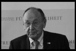 Hans-Dietrich Genscher ist tot.
