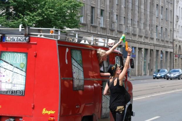 Hinterherlaufen und dokumentieren, wenn Leipziger ihr Recht auf Stadt einfordern. Foto: L-IZ.de