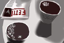 Wird dieser Kaffee jetzt getrunken? Grafik: L-IZ