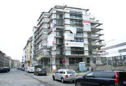 Neubau in der Kochstraße in Connewitz. Foto: Ralf Julke