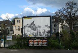 Stefan Koppelkamm: Bilder der Zerstörung Nr. 2. Sprengung der Paulinerkirche. Foto: Ralf Julke