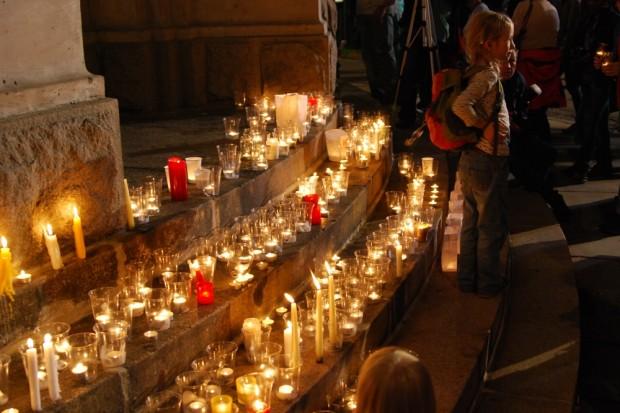 Begleiten, wenn Leipziger gedenken. Foto: L-IZ.de