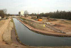 Am Lindenauer Hafen sollte das Olympische Dorf gebaut werden. Archivfoto: Ralf Julke
