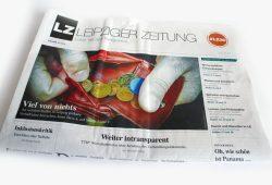 Die neue Leipziger Zeitung vom 8. April: Viel von nichts. Foto: L-IZ