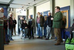 """Eröffnung der neuen Ausstellung im """"Forum 1813"""". Foto: Ralf Julke"""