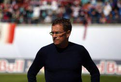 Cheftrainer des RB Leipzig Ralf Rangnick. Foto: Alexander Böhm