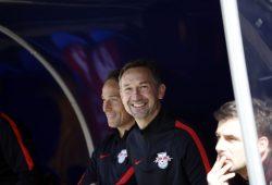 Co-Trainer der Roten Bullen Achim Beierlorzer. Foto: Alexander Böhm