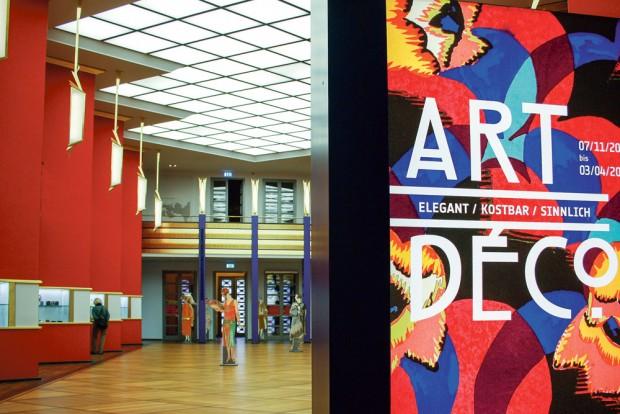 """Blick in die aktuelle Schau """"Art Deco"""". Foto: Daniel Thalheim"""