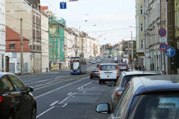 Die Georg-Schumann-Straße in Möckern. Foto: Ralf Julke