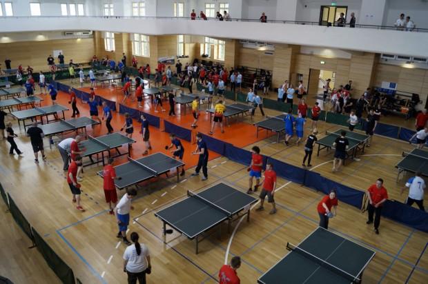 Foto: Lensspirit Tischtennis Firmen-Cup