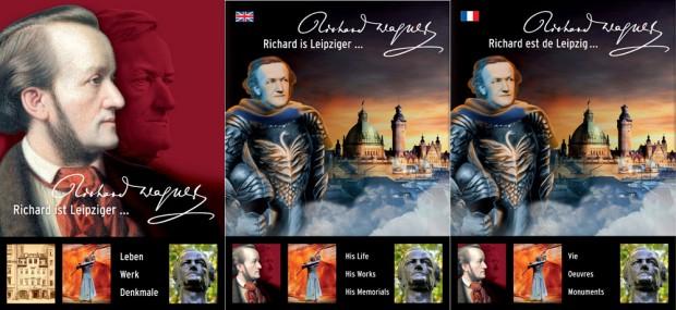 Die neue Broschüre in drei Sprachen. Fotos: Richard-Wagner-Verband Leipzig