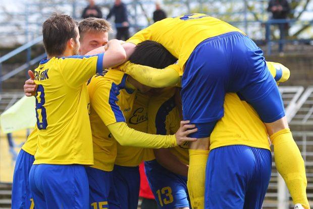 Aufsteiger! Der 1. FC Lok Leipzig ist zurück in der Regionalliga. Foto: Jan Kaefer (Archiv)