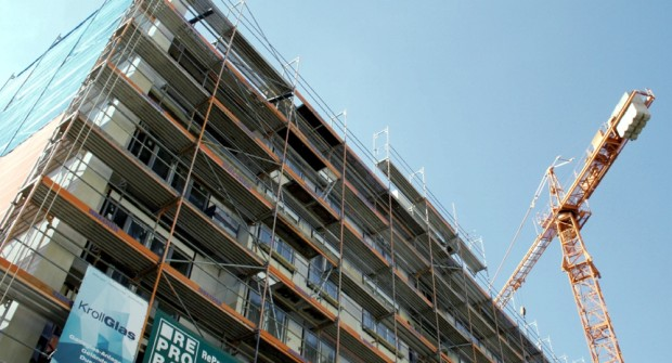Baustellen so weit das Auge reicht. Leipzig boomt und hat Wachstumsschmerzen. Foto: LZ