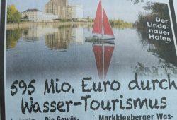 """""""Bild""""-Meldung zu den Luftzahlen aus der Vorlage des Ordnungsbürgermeisters. Foto: Wolfgang Stoiber"""