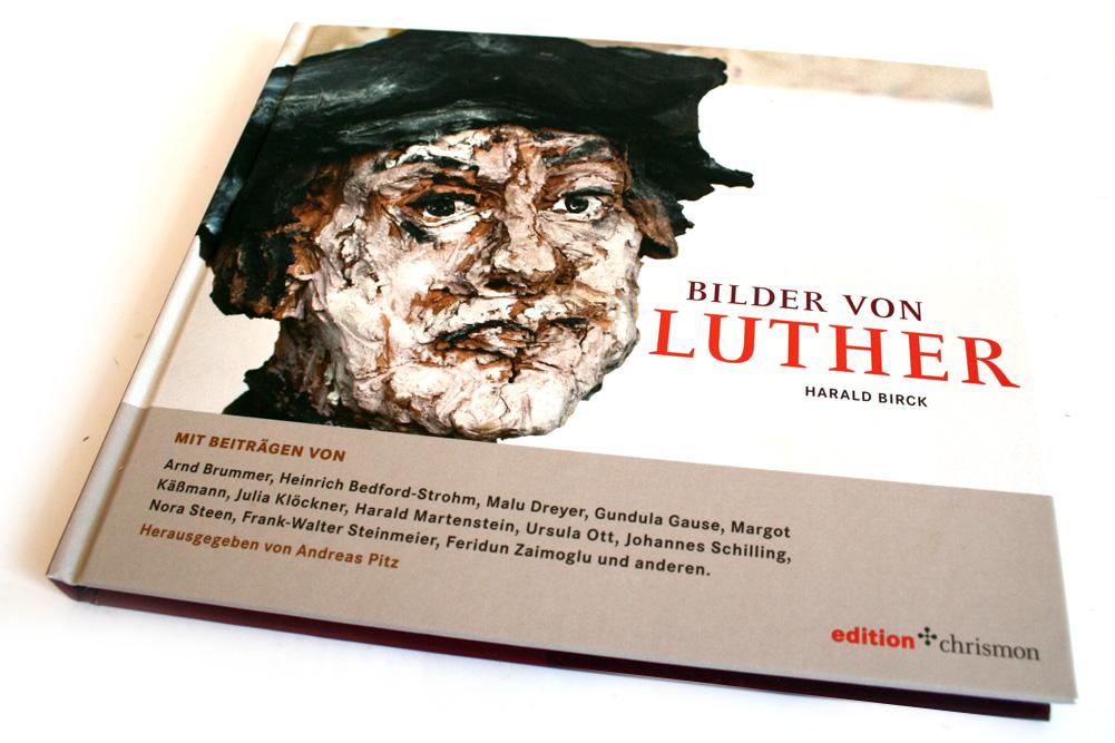 Andreas Pitz (Hrsg.): Bilder von Luther. Foto: Ralf Julke