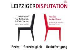 Veranstaltungsplakat Leipziger Disputation.