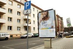 Werbung im Margarine-Look: Du bist Leipziggg. Foto: Ralf Julke