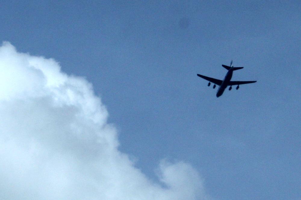 Richtig stolz ist Sachsens Innenminister auf seine Sammelabschiebungen per Flugzeug. Foto: Ralf Julke