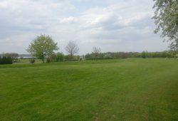 Seit 1993 mehr oder weniger provisorisch: der Golfplatz Markkleeberg. Foto: Patrick Kulow
