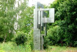 Das Denkmal der Grünauer Grundsteinlegung im Jahr 1976. Foto: Gernot Borriss