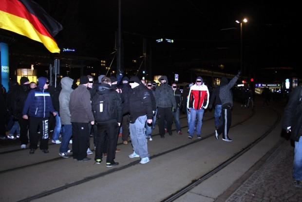 Man kennt sich offenbar in der Szene. Foto: L-IZ.de