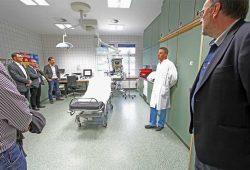 Besichtigung des fertig modernisierten Notfallzentrums des HELIOS Park-Klinikums Leipzig. Foto: HELIOS Park-Klinikum