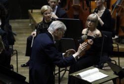Herbert Blomstedt inszeniert Ludwig van Beethoven. Foto: Alexander Böhm
