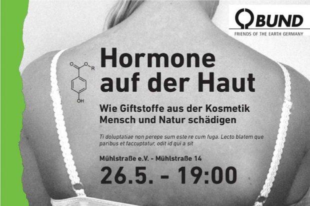 Diskussionsabend Hormone auf der Haut.