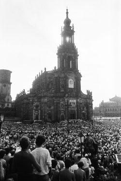 Katholikentreffen, Dresden, 1987. Foto: Harald Kirschner