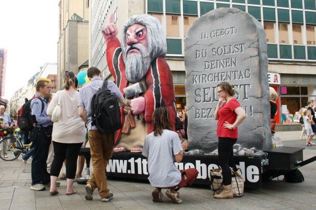 Vom Ordnungsamt als Terrorist verdächtigt: Moses. Foto: Ralf Julke
