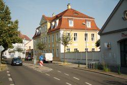 Oberdorfstraße: Die Stötteritzer wünschen sich hier Tempo 30. Foto: Ralf Julke