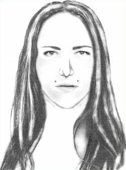 Wer erkennt diese Frau? Bild: PD Leipzig