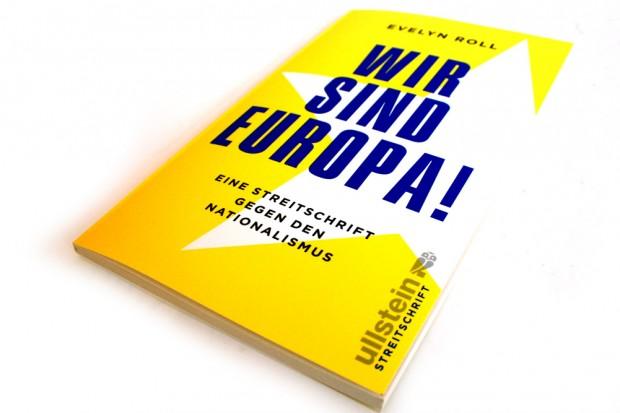 Evelyn Roll: Wir sind Europa! Foto: Ralf Julke