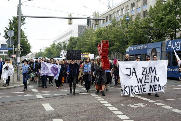 150 starteten in Connewitz. Foto: Alexander Böhm