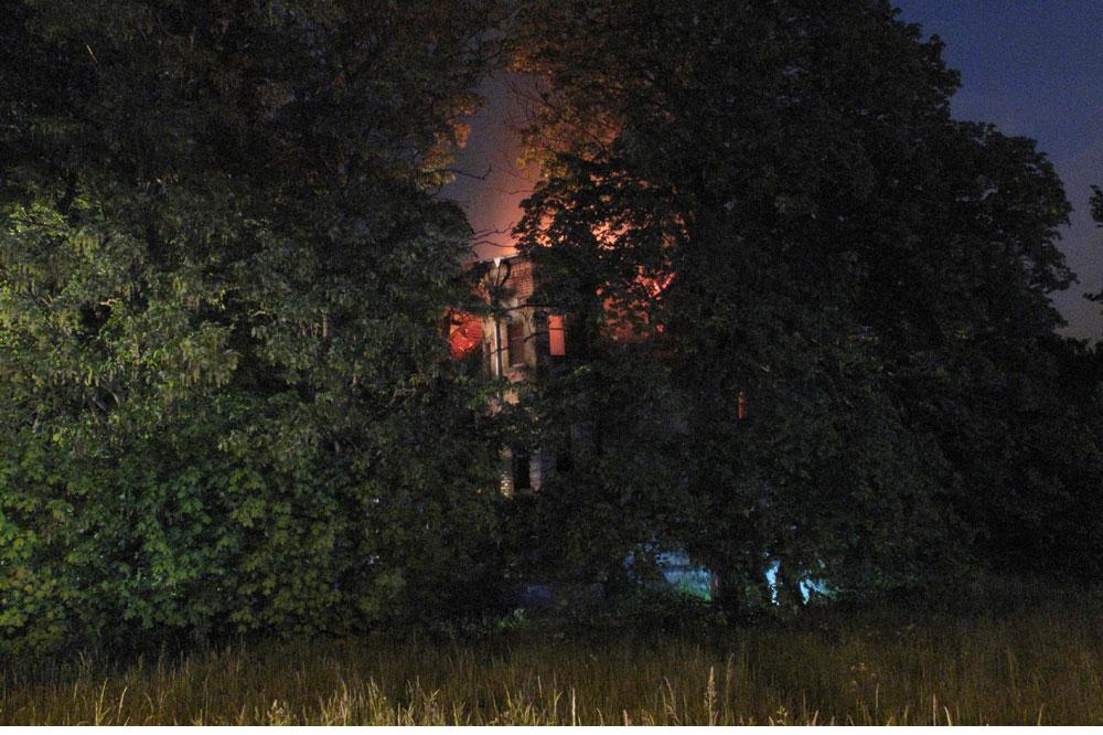 Die alte Villa war nicht mehr zu retten. Foto: PD Leipzig