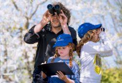 Vogelbeobachtung in der Familie: Foto: NABU/ S. Hennigs