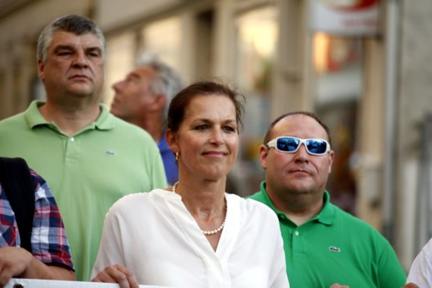 20:20 Uhr: Frontfrau Tatjana Festerling heute zu Gast in Leipzig. Foto: L-IZ.de