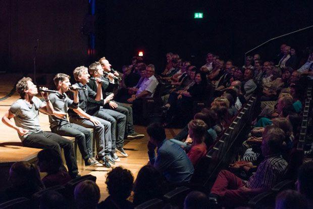 A cappella Abschlusskonzert. Foto: Holger Schneider
