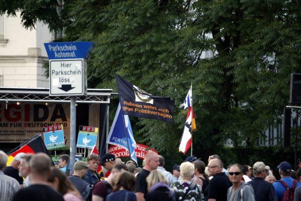 Auch Roßwein wehrt sich heute wieder intensiv (nach dem Marsch). Foto: L-IZ.de