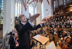 Gotthold Schwarz dirigierte das Eröffnungskonzert des Bachfest 2016. Foto: Bachfest Leipzig/Jens Schlüter