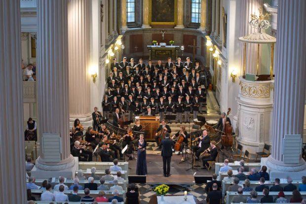 Der Knabenchor Hannover führte in der Nikolaikirche fünf Bach-Kantaten auf. Foto: Bach-Archiv Leipzig/Gert Mothes